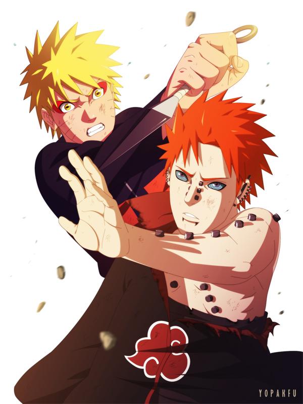Anime music vdeo 1naruto vs pain estrela nerd fala reheart Choice Image